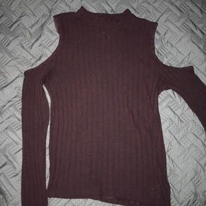 AE Shoulder Cut Out Sweater